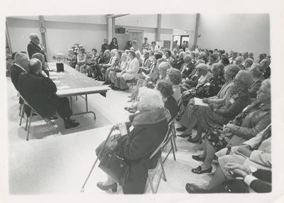 Dedication of 5 Williams Street Senior Center