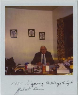 1988-60YearsYoung-GassSignsUnitedWayBudget.tif