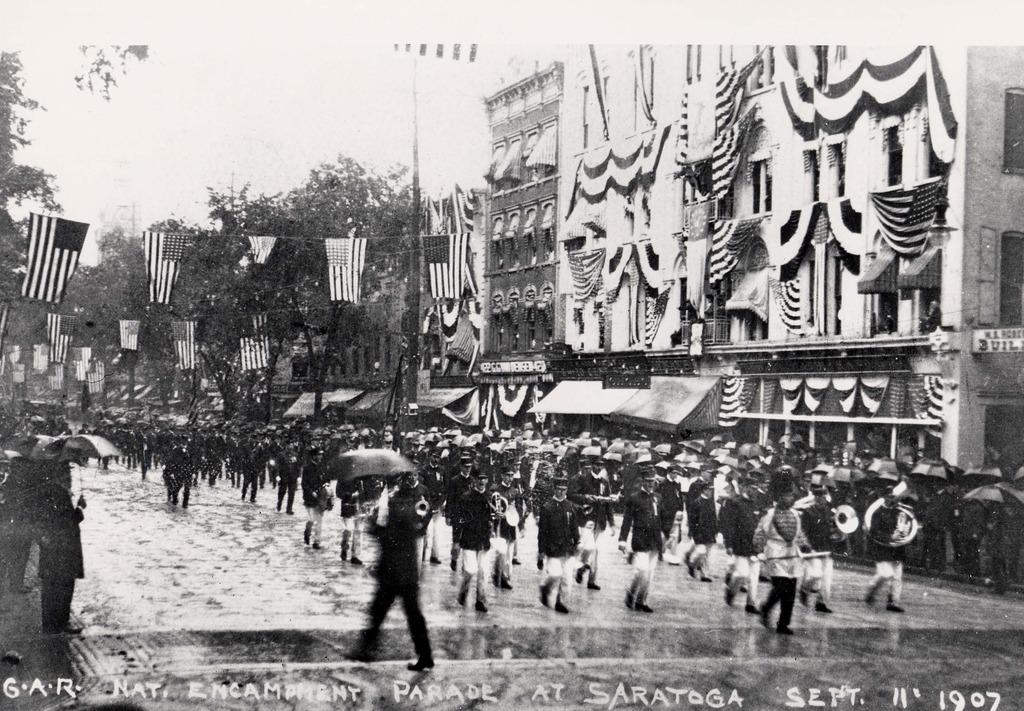 1907 GAR Parade