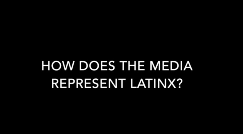 How does the media represent Latinxs? Latinx Students Video Interview