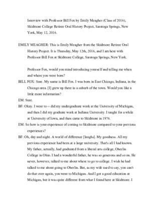 Bill Fox - Transcript.pdf
