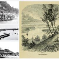 Early Saratoga Lake Activities