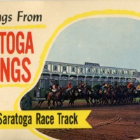 Greetings from Saratoga Springs