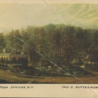 Main St., Saratoga Springs, N.Y., Jas. E. Butterworth (1817-1894)