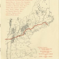 Proposed New England Super-Highway connecting New York and three Northern New England states of Vermont, New Hampshire, and Maine.