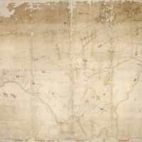 A Map of the Survey and Partition of all that Tract of Land situate, lying and being in the county of Albany known by the name of KAYADEROSSERAS alias QUEENSBOROUGH for the partition whereof...