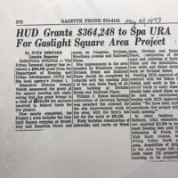 1973-HUDGrants$364,248ToSpaURAForGaslightSquareAreaProject-May23-Gazette.JPG