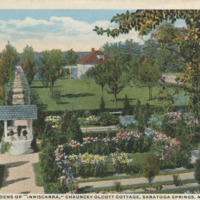 "The Irish Gardens of ""Inniscarra,"" Chauncey Olcott Cottage, Saratoga Springs, N.Y."
