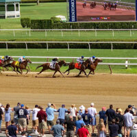 The Finish at Saratoga Race Course Now