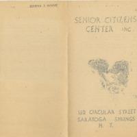 Senior Citizens Center Inc. Welcome