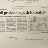 Trail project on path to reality