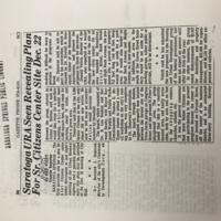 SaratogaURASeenRevealingPlanForSr.CitizensCenterSiteDec.22-November25-Gazette.JPG