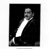 Burleigh as musical director of St. George's Minstrel Show, 1906<br /><br /> <br /><br />