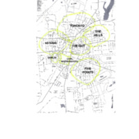 Map of Neighborhoods in Saratoga Springs