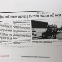 2007-GreyhoundBusesMovingToTrainStationOffWestAve-November26-TheSaratogian.jpg