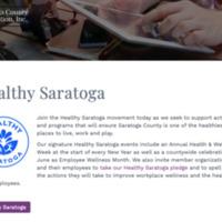 Healthy Saratoga Homepage