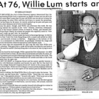 Articles about Chinese in Saratoga Springs - 1970s