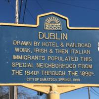 Dublin Historical Marker