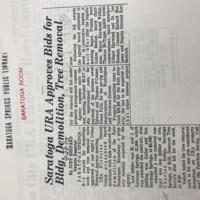 1975-SaratogaURAApprovesBidsForBldg.Demolition,TreeRemoval-September23-Gazette.JPG